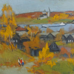 novotelnov-golden-fall-in-tutaev-2001-tempera-k