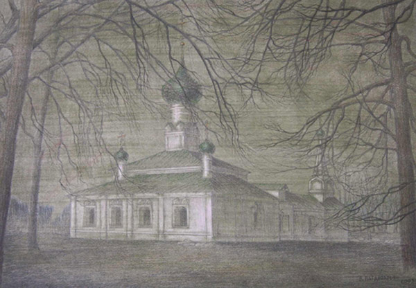 Церковь Тихвинской Богоматери г.Ярославль