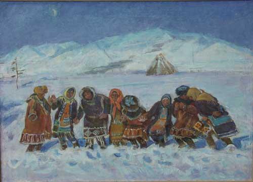 Н.Кулёва. Норгали. 1999. Х., м..