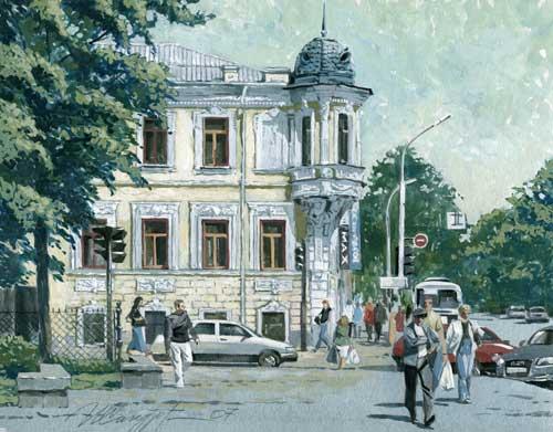 Дом Петражицкого.