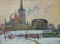 Н.Кулёва. Толстая Маргарита. 1964. Х.,м.