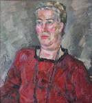 И.Д. Коробейников. Антонина Петровна. 1996. 60х60 Холст, масло.