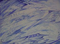 "Г.П.Есафьева. Серия ""Радуга"" 3. 2007. 70х90. Бум.,смеш.техн. Цена 14 000 руб."