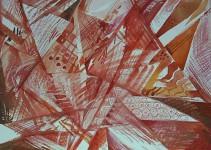 "Г.П.Есафьева. Серия ""Радуга"". 2007. 70х90. Бум.,смеш.техн. Цена 14 000 руб."