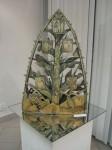 М.П.Бекетов. Древо Ярославии. Шамот, глазурь. Высота 50 см. 2007