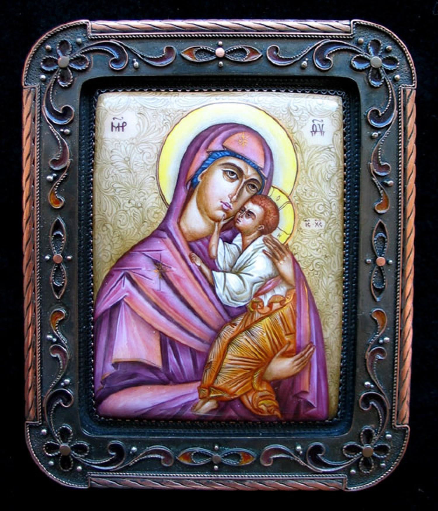 Е.В.Ананова. Богоматерь Ярославская. 2000 г. Художник Л.В.Смирнова