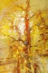 М.Н.Жгивалёва. Жёлтый крик. 2005.  80х60. Х. м. Цена 50 000 руб.