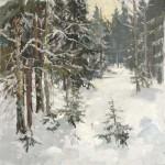 С.М.Коровин. В лесу. 2006. 70х80 см., холст, масло.