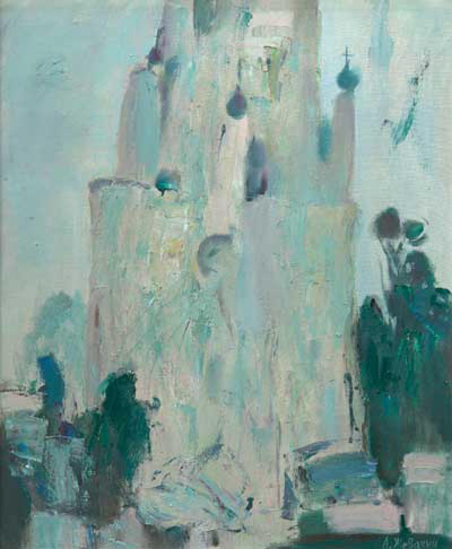 А.Н.Жевакин. Белая ночь. 2003. 100х80. Холст, масло. Цена 70 000 руб.
