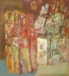 В.С.Горячев. Разрушение Содома. 2004. Б., смеш. техника. 56х51.