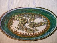 Е.Г.Дарьина. Белая смородина (фрагмент). 2005 г. Х.,м. 40х35 см.