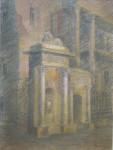 В.В.Багдасарьян. Хранитель старины. 2003. 52х39.5. Б.,пастель, ретушь.