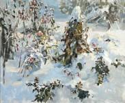 С.М.Коровин. Последние цветы. 2006. 70х80 см., холст, масло.