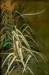 И.Н.Флоринская. Травы №1. 2005 г. 60х40. нат. шёлк, батик.