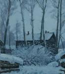 В.К.Золотайкин. Зима. 2007 г. 80x70 х.м.
