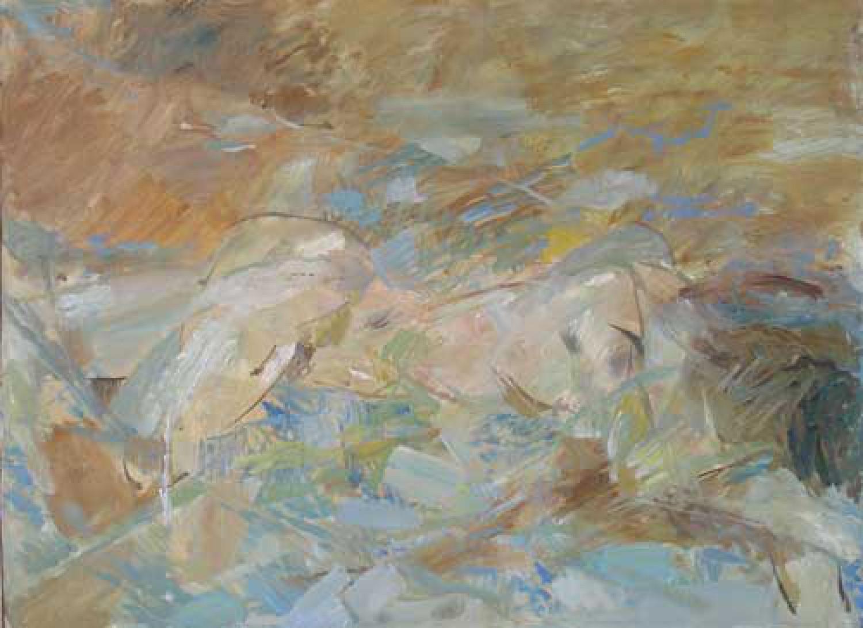 А.Н.Сериков. Обнаженная. 1990. 60х80. Холст, масло.