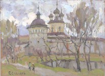 С.И.Соколов. Борисоглеб. 2007. 21х29. К.м..