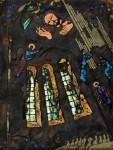А.А.Карих. Музыка в храме. 1992. 42,5х32 см. Медь, эмаль.