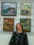 Участие Ольги Александровой в международной выставке эмали