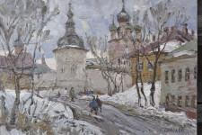 С.И.Соколов. Дорога в кремль. 40х50. К.м..