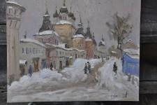 С.И.Соколов. Борисоглеб. 40х50. К.м..
