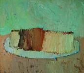 А.А.Братыкин. Оставленный хлеб. 2017. Х.м., 60х70.