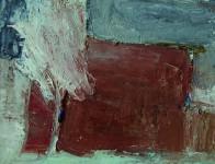 А.А.Братыкин. Под снегом красный дом. 2016. Х.м., 50х60.