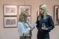 Выставка Леонида и Лизы Малафеевских в зале имени Н.А. Нужина