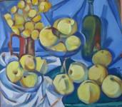 И.Д.Антонова. Антоновские яблоки. 2013. Х.м., 70х80 см.