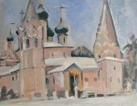 И.Д.Антонова. Церковь Ильи Пророка. 2016. Х.м., 60х80 см.