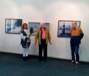 Открытие юбилейной выставки Лидии Андриановой