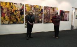 Состоялось открытие персональной выставки Андрея Аранышева