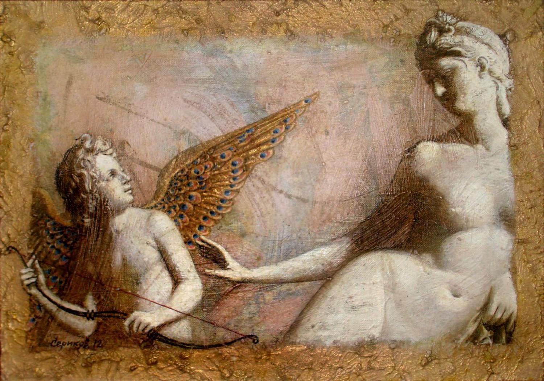 А.Н.Сериков. Амур. 50х70 см., акрил.
