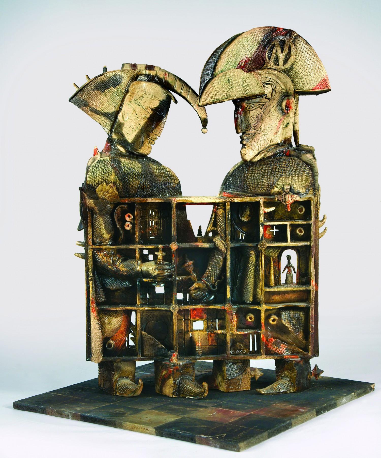 М.П.Бекетов. Игра. 2010. Шамот.