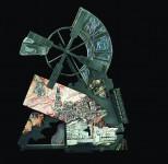 М.П.Бекетов. Прогулки PRO Голландию. 2013. Металл, стекло, спекание. Медь, эмаль.