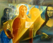 Ф.И.Куницын. Бог - это красота. 2014. 90х110 см. холст, масло.