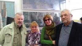 """Выставка """"Диалог"""": А.Александров и Л.Малафеевский"""