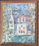 В.Я.Голубкова. Церковь Николы. 2017 г. Горячая эмаль, медь. 32х30