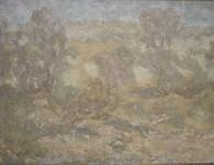 В.С.Токмаков. Шелест листвы. 1984. 100х72. Холст, масло.