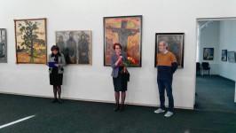 Состоялось открытие выставки Петра Крохоняткина