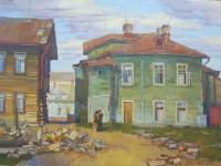 В.Н.Константинов. Настин дом. 2012. Холст, масло. 90х70 см.