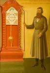 А.В. Корзин. Часовых дел мастер Л.И.Нечаев. 1978. Холст, масло. 195х140
