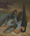 А.И. Кравцов. Прихожие. 2008. Х., м. 70х60 см.