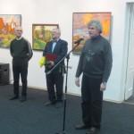 Открытие персональной выставки Владимира Литвинова