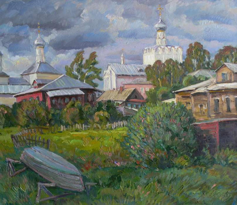 В.Литвинов. Ростов Великий. Х.м., 60х80. 2010