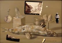 Б.Б. Лейфер. Натюрморт № 2. 1996. Холст, масло. 35.5 X 50.5 см. Государственный Русский музей.