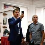Мэр Ярославля Владимир Волков посетил Союз художников