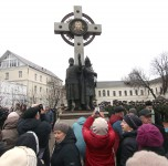 Открытие в Ярославле памятника Минину и Пожарскому