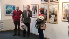"""Открытие выставки Валентины Максимовой """"Мои четыре окна"""""""