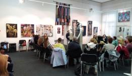 Творческая встреча на выставке «Арт-объект - театр»